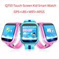 Femperna Q750 Дети GPS Smart Watch с Wi-Fi 1.54 дюймов сенсорный экран SOS Вызова Расположение Устройства Трекер для Kid Safe PK Q60 Q80 Q90
