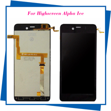 For Highscreen Alpha Ice LCD Display Original Quality Touch Screen Dispaly  for Highscreen Smartphone Free Shipping