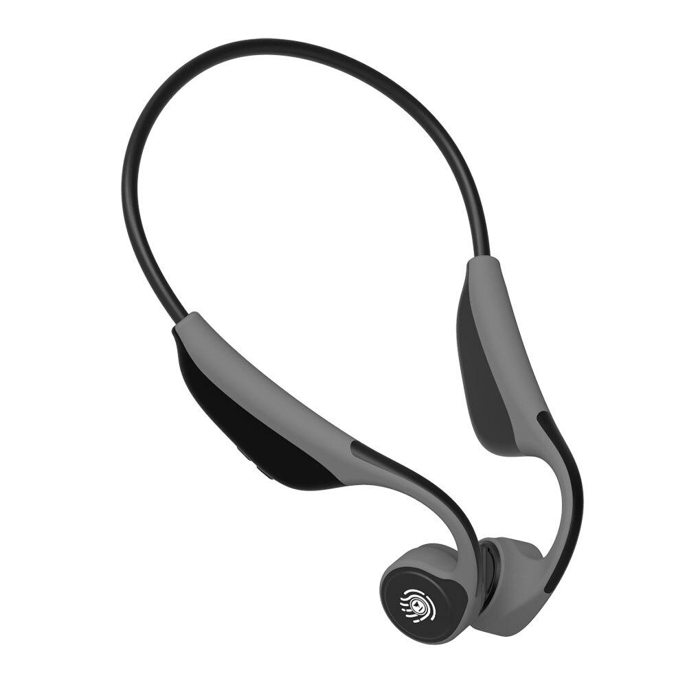 V9 casque Bluetooth 5.0 tête de Conduction osseuse sans fil sport écouteurs mains libres étanche PK Z8 casque sans fil