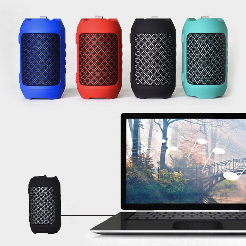 Wireless Bluetooth Speaker HIFI Stereo Sound TF Music Player Subwoofer Column Speakers for Computer Smartphones