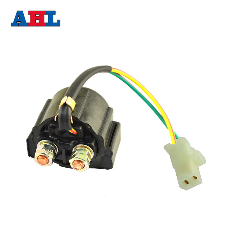 motorcycle electrical starter solenoid relay switch for yamaha moto 4 200  225 250 350 yfm200 yfm225 yfm250 yfm350 / xt600 -in motorbike ingition from