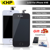 2018 100 Original KHP AAAA Screen LCD For IPhone 4S 4 Screen LCD Replacement Screen IPS