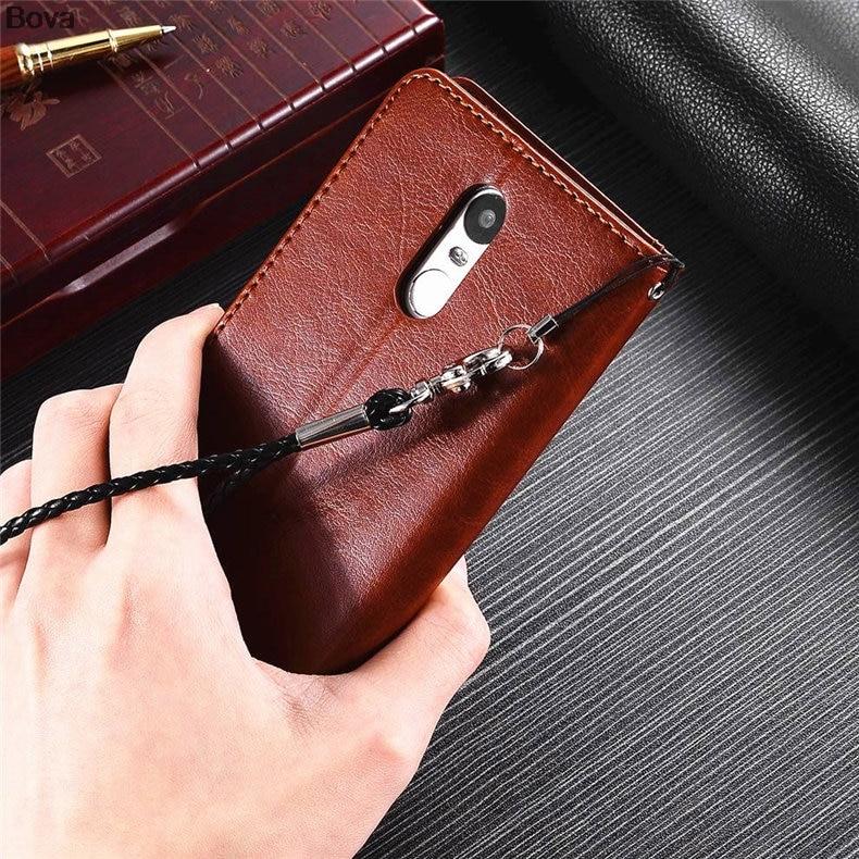 Redmi Note 3 korthållare täckväska för Xiaomi Redmi Note 3 Pro Pu - Reservdelar och tillbehör för mobiltelefoner - Foto 5
