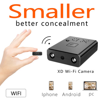 The Newest HD Mini Wifi Camera Infrared Night Vision Surveillance IP/AP Camera Motion Detect Remote Alarm Camcorder Max 128G