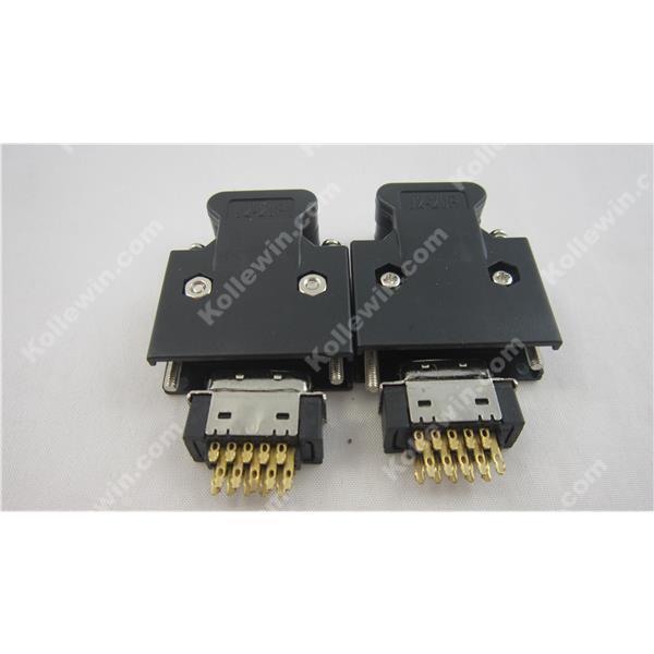 free shipping oem mr j2cn1 x2 connector kit cn1 i o iak3 servo rh aliexpress com