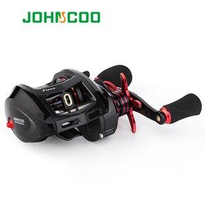 Image 3 - JOHNCOO Bait Casting Reel Big Game 13kg Max Drag Sea Fishing jig Reel 11+1 BB 7.1:1 Aluminium Alloy Body Jigging Fishing Reel