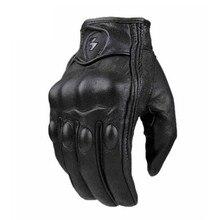 Новые мотоциклетные перчатки из натуральной кожи с сенсорным экраном для мужчин и женщин moto cross водонепроницаемые велосипедные перчатки moto cross stars gants moto