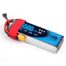 2018 dxf Перезаряжаемые lipo Батарея 14.8 В 5500 мАч 4S 35C lipo Батарея XT60 Plug Липо Батарея Bateria rc автомобиля лодка Самолет Вертолет