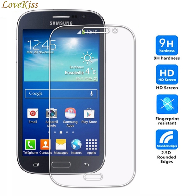 For <font><b>Samsung</b></font> Galaxy Grand Duos Neo Plus i9060 i9060i GT-i9060 i9082 GT-i9082 i9080 GT-I9060 GT-I9080 9H Tempered <font><b>Glass</b></font> Film Case image