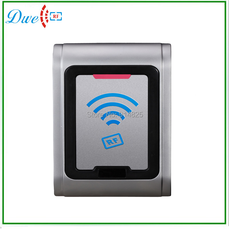 ФОТО mental case   & waterproof  silver color proximity  card control system