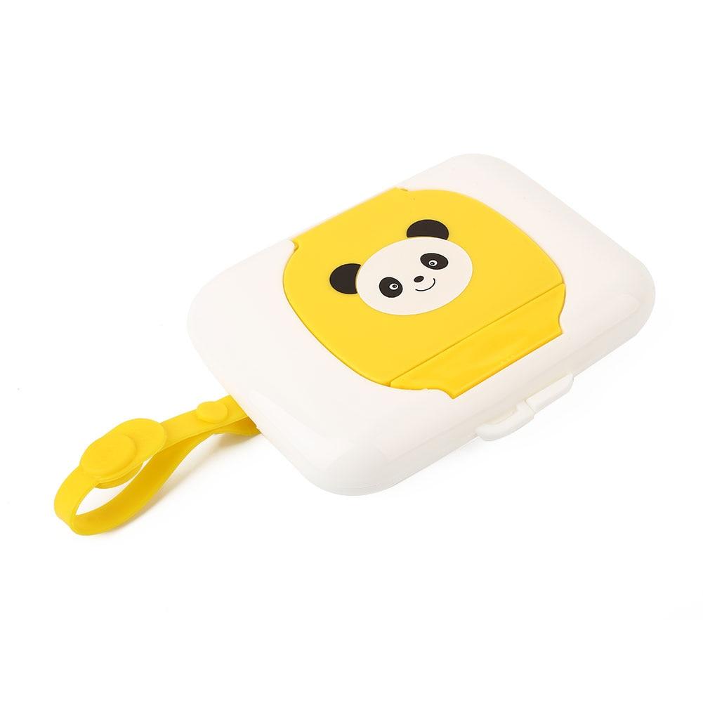 Baby Wet Wipes Case Travel Kids Wet Wipes Storage Case Child Wet Tissue Holder Dispenser Storage Box Drop shipping