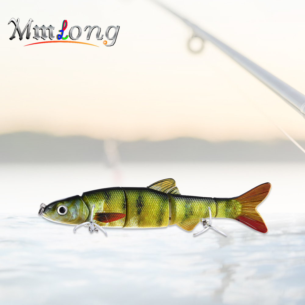 Mmlong 16.5cm Multi Jointed Swimbait Fishing Lure AL12B 39g Hard Wobbler Baits With Hooks Artificial Para Pesca Fishing Tackle banshee 127mm 21g nexus voodoo atj01 swimbait two sction multi jointed topwater walk dog stickbait floating pencil