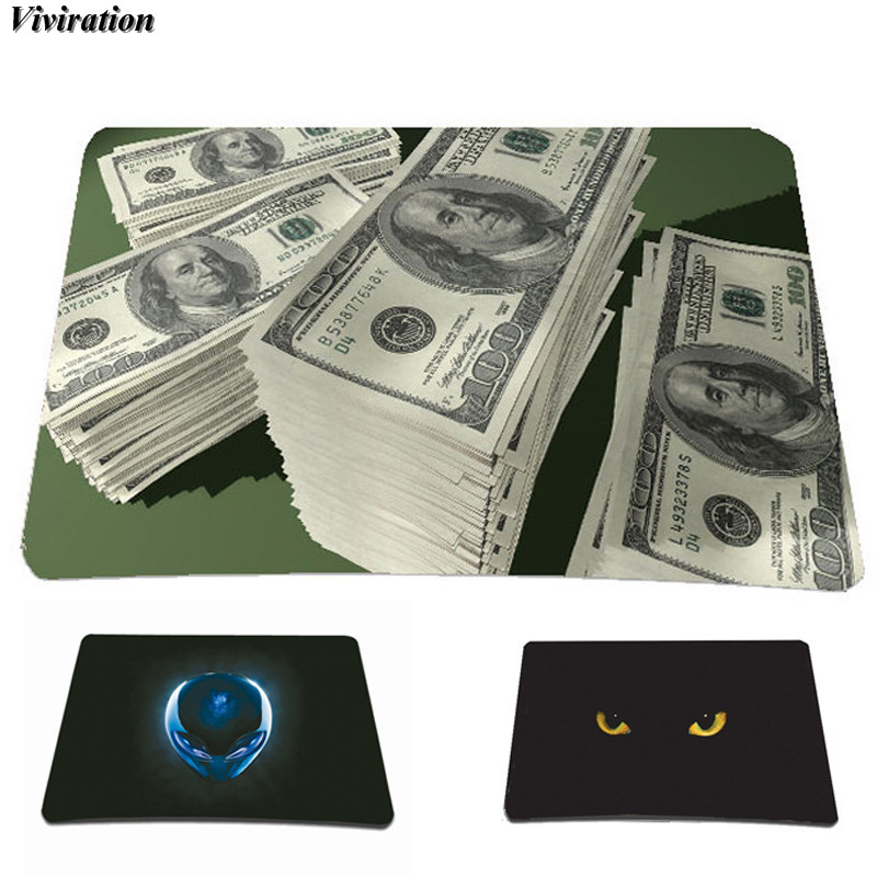 Unique Viviration 210x180mm Tablet Computer PC Office Mouse Pad Anti-slip Gaming Mouse Mat 2018 The Most Popular Pattern Print