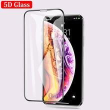 Için iPhone X 6 6 S 7 8 Artı 9 H 0.26mm 5D Koruyucu Tam Kapak Yumuşak Kenar Temperli cam Telefon Ekran Koruyucu Film için iPhone...