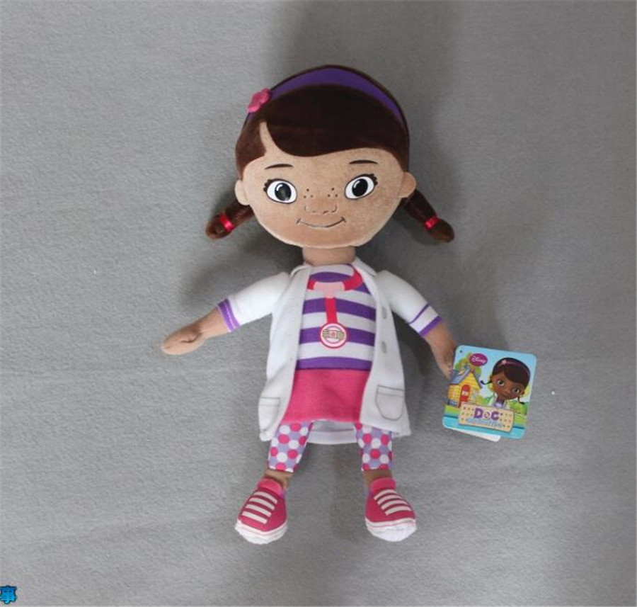 1 piece Original Doc McStuffins plush soft toys,Dottie girl doll for Children & Kids & baby gift