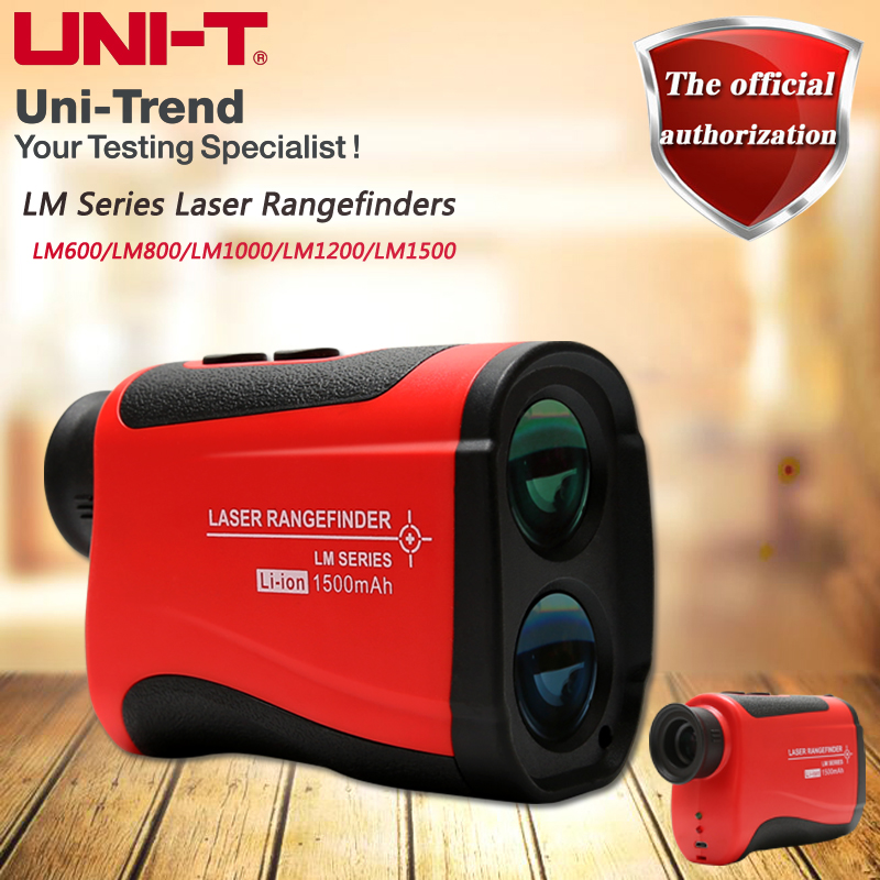 UNI T LM600/800/1000/1200/1500 Laser Rangefinders; height measurement/speed measurement/angle measurement/distance measurement