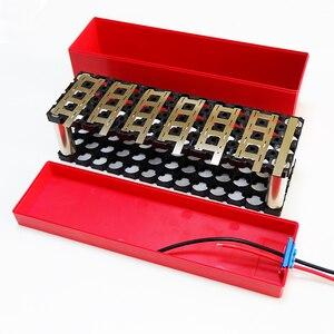 Image 4 - 13S 4P 48V 10Ah lityum pil kutusu 13S4P 18650 pil paketi içerir tutucu ve nikel Can yerleştirilecek 52 adet hücreleri