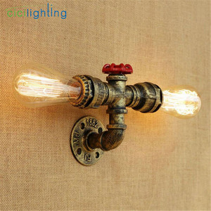 Image 2 - Modern E27 Edison Style Industrial Rustic Sconce Wall Light Lamp Fitting Fixture cicilighting
