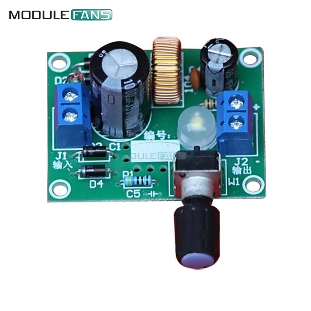 Trustful Lm2596 Adjustable Voltage Stabilizer Precise Buck Step Down Power Supply Module Board Frequency Oscillator High Efficiency To Be Renowned Both At Home And Abroad For Exquisite Workmanship Skillful Knitting And Elegant Design Electronic Components & Supplies
