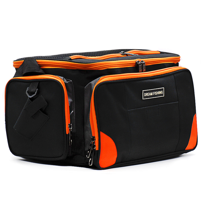 Multifunctional Fishing Bags 372324cm1200d Oxford Waterproof Tackle Backpage Pesca Acesorios Sac Canne
