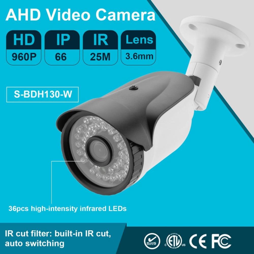 3.6mm IP Camera 960P 1080P Outdoor Surveillance Webcam Durable AHD Video Camera Home Protecting Security System high quality 960p 1080p ahd video camera home protecting security camera portable network webcam surveillance accessories