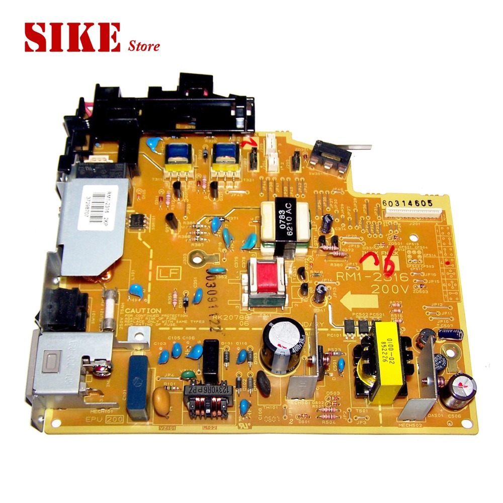 LaserJet Printer Engine Control Power Board For HP 1018 1020 PLUS RM1-2316 RM1-2315 HP1018 HP1020 Voltage Power Supply Board free shippping 90% new original rm2 0233 laserjet engine control power board for hp m435 m435nw m706 m706n power supply board