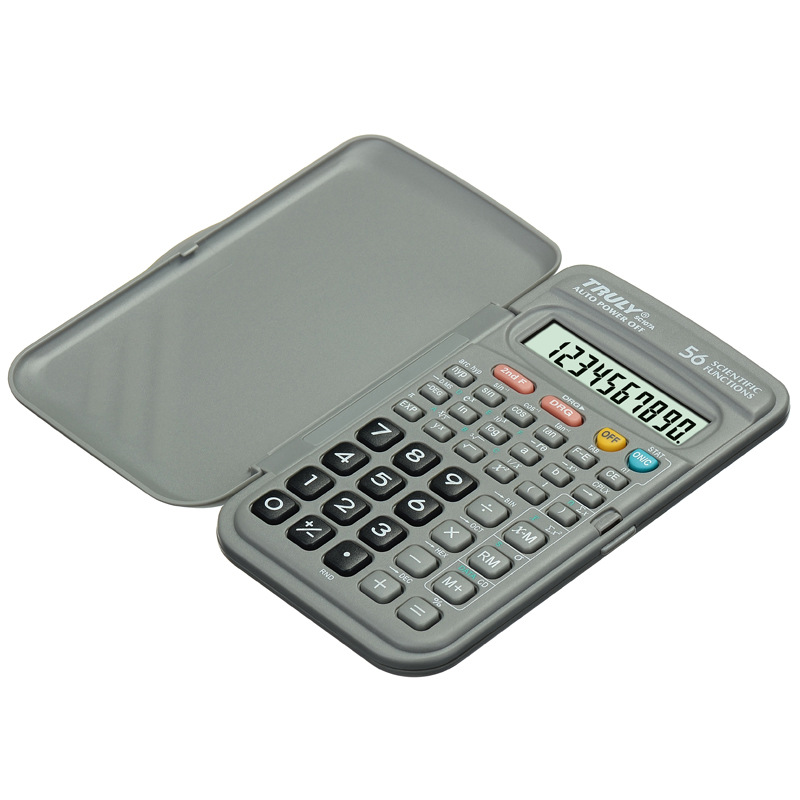 Electronic-Calculator Scientific Office Multifuntion Student Portable 56 Home Items Function-Supplies
