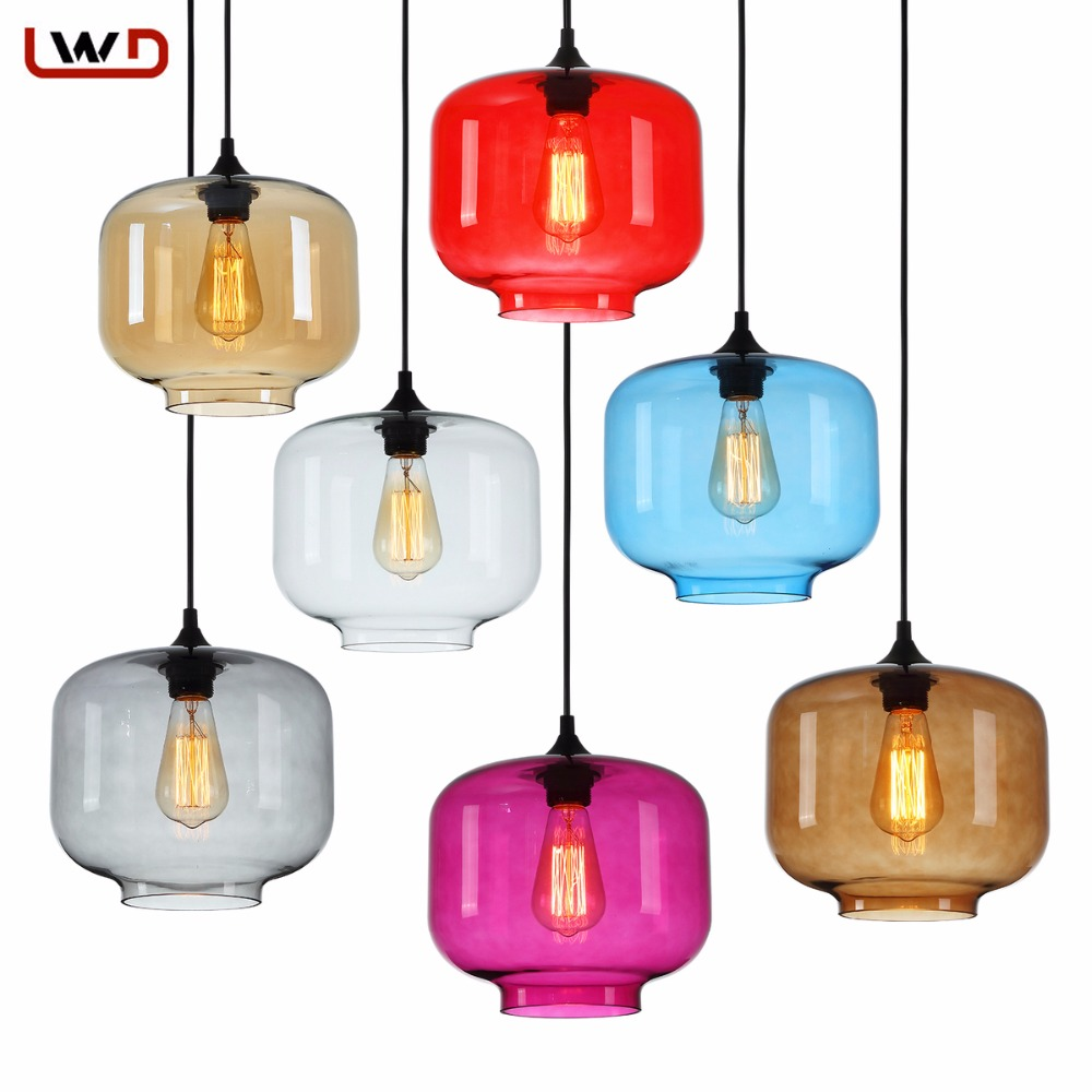 contemporary light fixture promotionshop for promotional  - new simple modern contemporary hanging  color glass ball pendant lamplights fixtures ee for kitchen restaurant cafe bar