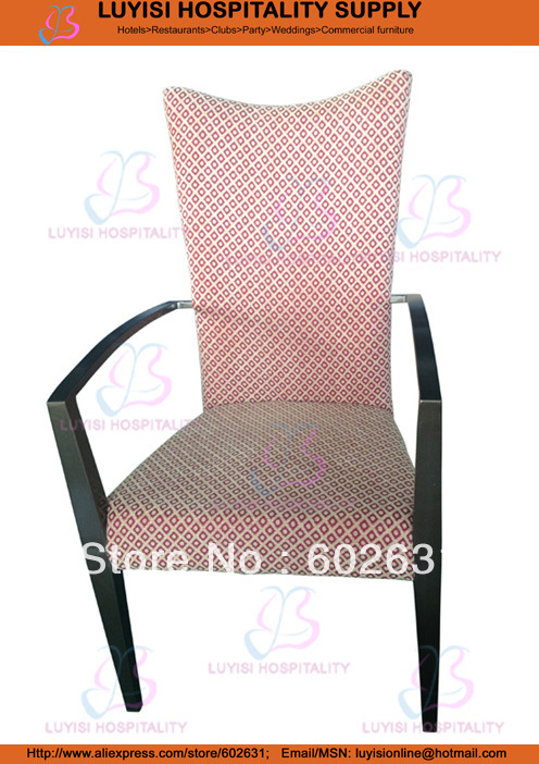 Quality Aluminum Frame Stacking Hotel Armchair