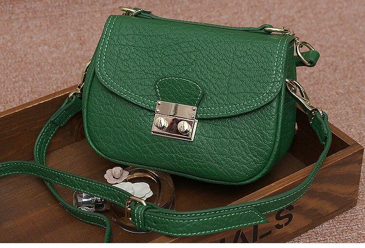 ФОТО 2016 genuine cowhide leather women little size messenger handbag, cross body small shoulder bag for lady, free shipping