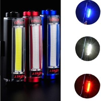 100 Lumen Rechargeable LED Aluminium Bike Rear Tail Light Safety Cycling Warning Light Flashing Lamp