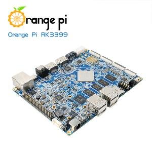 Image 4 - Arancione Pi RK3399 4 GB DDR3 16 GB EMMC Dual Core Cortex A72 Scheda di Sviluppo Android di Sostegno 6.0