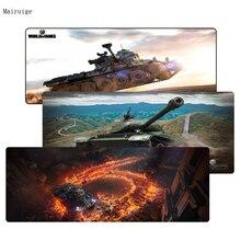 Mairuige 900*400*3 мм World of Tanks большой замок край Мышь площадку для Мышь Notbook компьютерная Мышь pad оверлок край большой игровой коврик