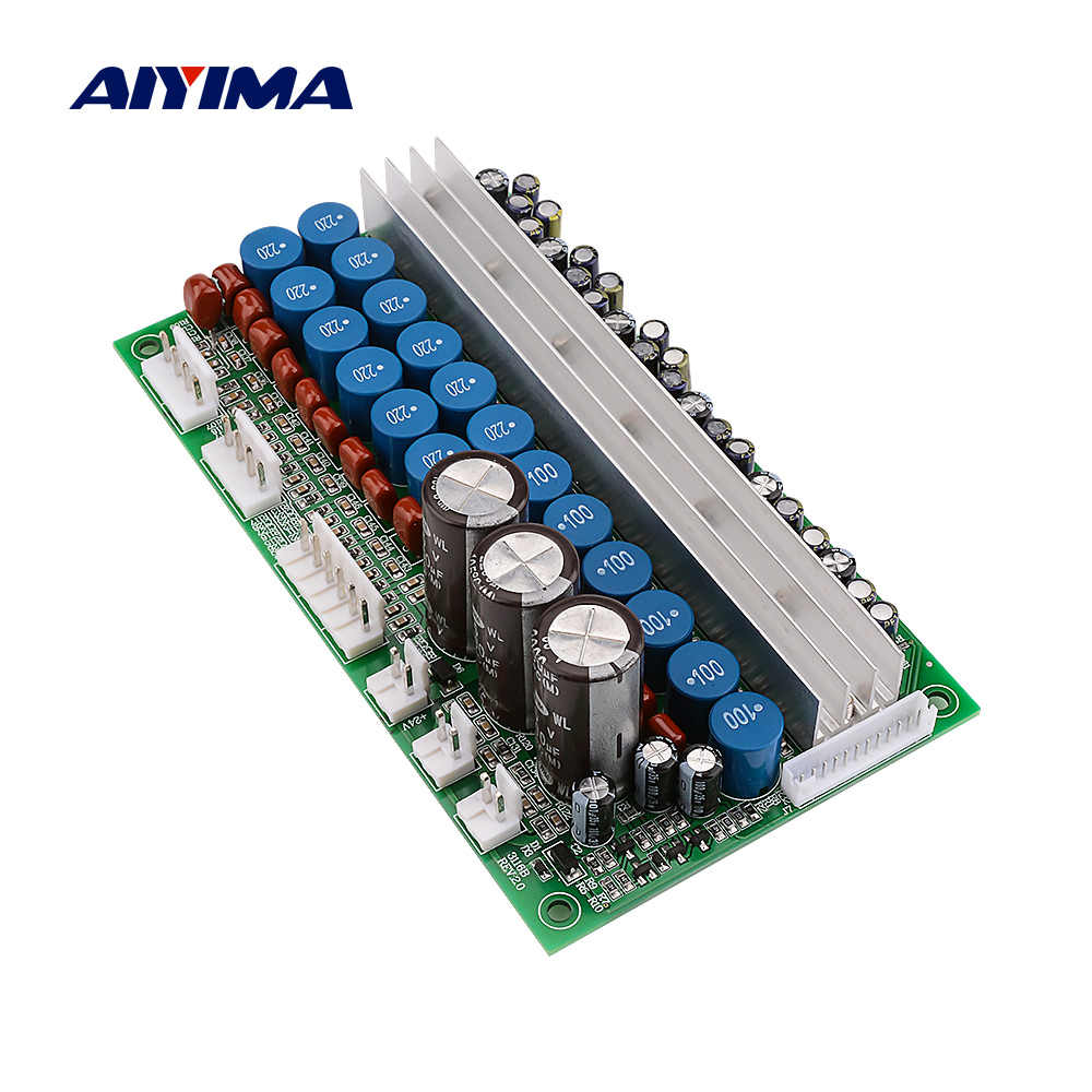 AIYIMA 7.1 TPA3116 כוח מגבר אודיו לוח 100W סאב צליל רמקולים מגברי כוח מקצועי DIY בית תיאטרון AMP