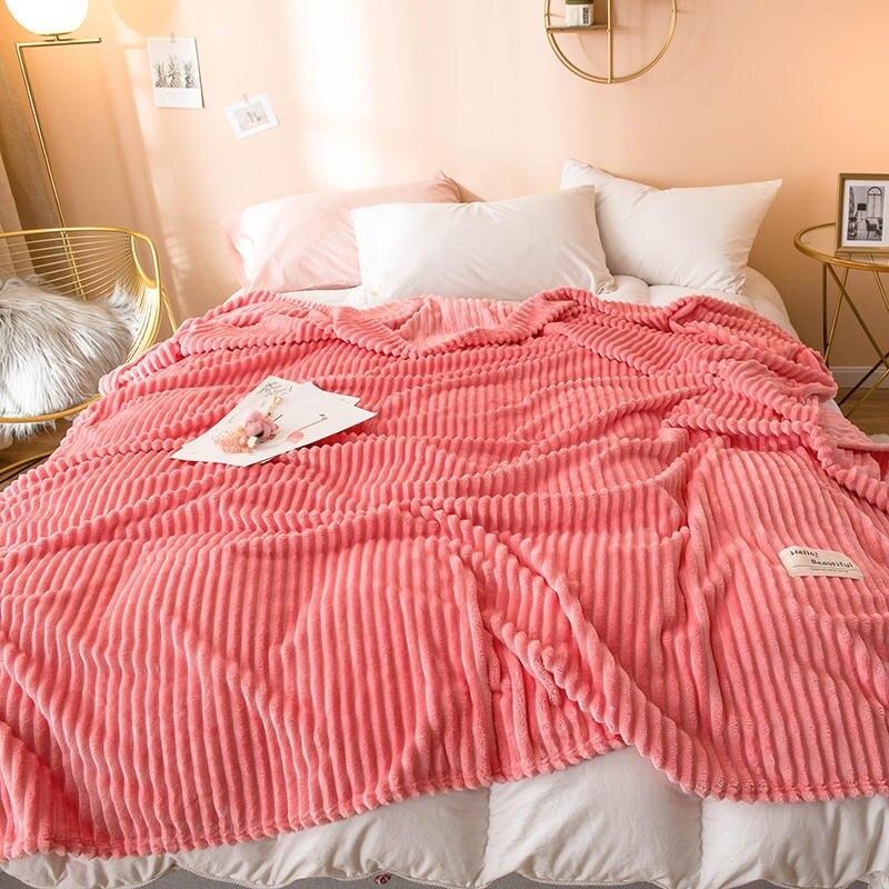 Одеяла Арбузного цвета красного цвета, Одноместный плед королевы, фланель, коралл, Флисовое одеяло на кровати, мягкое теплое толстое покрывало
