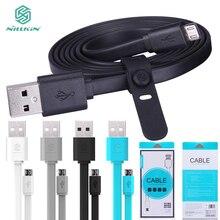 Оригинальный Бренд 120 см 2А быстрая зарядка кабели nillkin мирко USB кабель для samsung s6 oneplus htc huawei p8 телефон lg с коробка