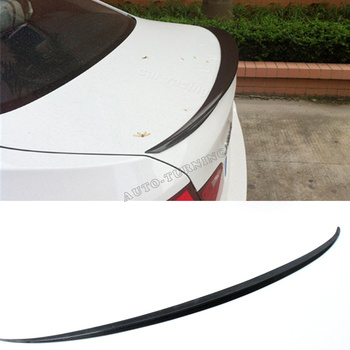 Car-styling Carbon Fiber Auto Rear Trunk Spoiler Lip Wing for BMW 528i F10 2010 - 2013