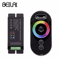 BEILAI DC 12 24V 18A Touch LED RGB Controller RF Wireless Remote Control For SMD 5050 2835 3528 RGB LED Strip Light|led rgb controller|rgb controller|remote control for -