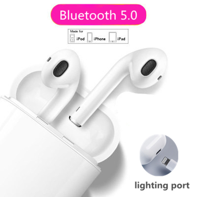SUPMANGO Wearpai i10 <font><b>TWS</b></font> Bluetooth/5.0 Mini Wireless Touch control Earphones with Charging Box Touch Control For all iphone image