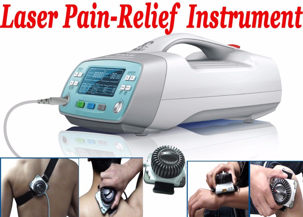 Free Shipping Class 3B 810nm Diode Low level cold soft Laser Therapy LLLT body Pain Relief to health care body apparatus elbow pain physical therapy cold laser red light apparatus home laser for visceral pain relief massager