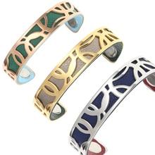 Legenstar Bangles For Women Rose Gold Stainless Steel Cuff Bracelets&Bangles Bijoux Manchette Femme Bracelet Argent Pulseiras все цены