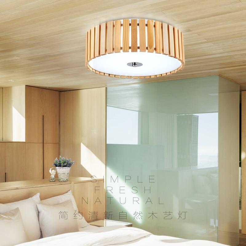 Deckenleuchten Led-licht Led-deckenleuchte Led Chinesische Holz Eisen Acryl Led Lampe Deckenleuchte Für Foyer Schlafzimmer Esszimmer