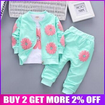 b084cfe3d BibiCola bebé Niñas Ropa conjunto niños chándales para niñas niños casual  deporte trajes primavera otoño Niñas Ropa conjunto
