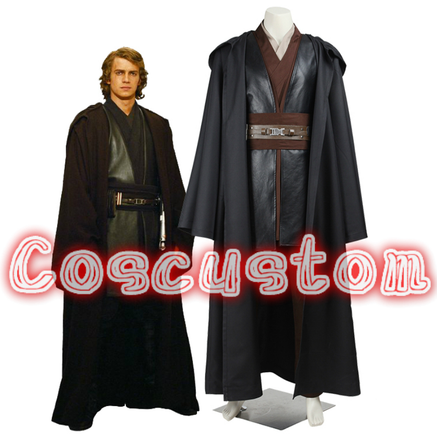 Coscustom high quality star wars costume adult anakin skywalker costume halloween party costume - Vaisseau star wars anakin ...