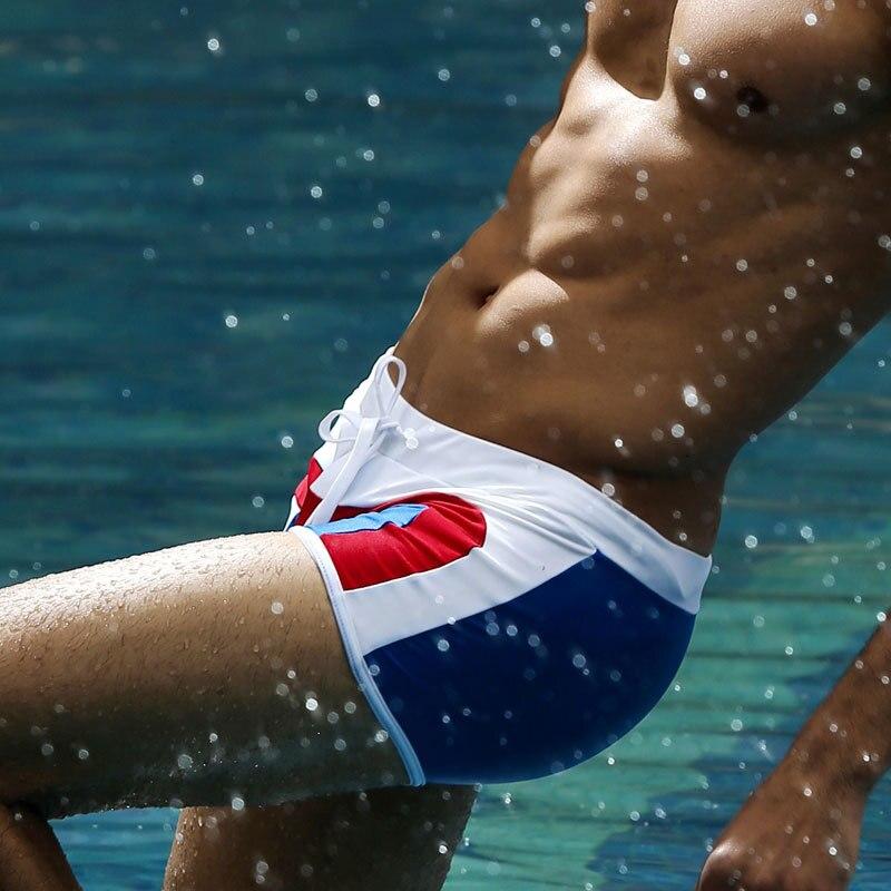 Calções Homens Marca de Moda Swimwear Dos