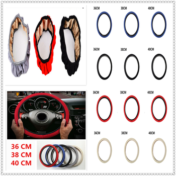 Car Steering wheel Cover Anti-Slip net Auto summer cloth FOR BMW all series 1 2 3 4 5 6 7 X E F-series E46 E90 F09 image