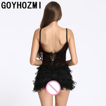 Sexy lingerie sexy costumes lace Puffy princess Baby Dolls sexy nightclub cosplay underwear Exotic Apparel slips women