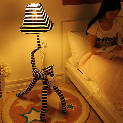 Table lamp living room floor lamp fabric decoration table lamp 36055