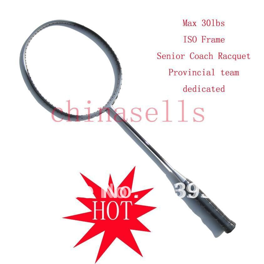 Senior Coach racquet Badminton racket chinese provincial team dedicated racquet full Carbon,Full Carbon ,free 1 sweatband,1 line