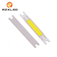 60PCS/Lot 5W COB LED Strip Light 9V Chip High Power Emitting Diode Bulb Lamp 500 Lumen Cold / Warm White Lighting 12V